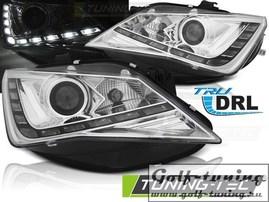 Seat Ibiza 6J 12-15 Фары TRU DRL хром