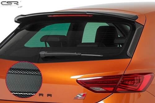 Seat Leon III Typ 5F Cupra 17- Спойлер на крышку багажника Carbon Look