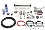 BMW E81/E82/E87/E88/E90/E91/E92/E93 Комплект регулируемой по жесткости пневмоподвески с компрессором viair 380er