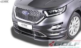 Ford Edge 2 Vignale 15- Накладка на передний бампер VARIO-X