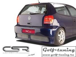 VW Polo 3 6N2 99-01 Бампер задний X-Line design