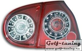 VW Golf 5 Фонари светодиодные, красные
