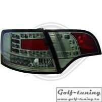 Audi A4 B7 04-08 Универсал Фонари светодиодные, тонированные с светодиодным поворотником