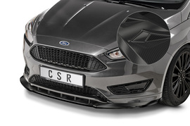 Ford Focus MK3 ST-Line 14-18 Накладка на передний бампер Carbon look