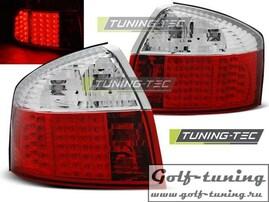 Audi A4 00-04 Фонари светодиодные, красно-белые