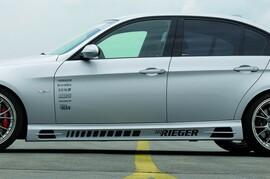 BMW E90/E91 04-11 Накладки на пороги