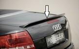 Audi A4 8H 02-05 Cabrio Спойлер на крышку багажника