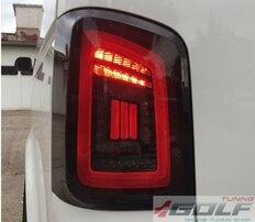 VW T5 2003-2015 Фонари красно-тонированные с бегающим поворотником