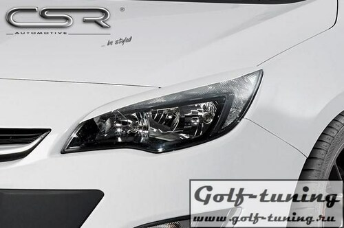 Opel Astra J 09- Реснички на фары