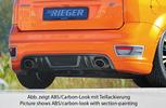 Ford Focus 2 ST 04-08 Накладка на задний бампер/диффузор