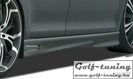 """MAZDA 2 (DY) 2003-2007 Накладки на пороги """"GT4"""""""
