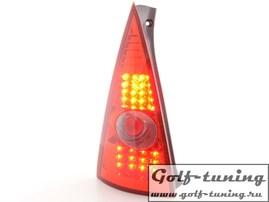 Citroen C3 02-04 Фонари светодиодные, красные