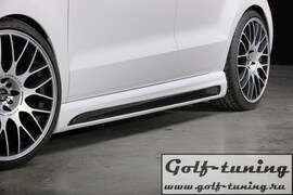 VW Polo 6R 09-14 Пороги Carbon Look