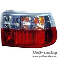 Opel Astra F 91-97 Фонари светодиодные, красно-белые