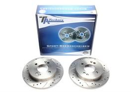 Hyundai i10/Kia Picanto Комплект спортивных тормозных дисков