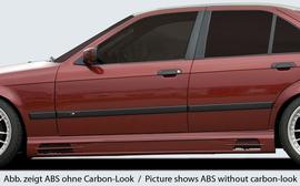 BMW E36 Накладки на пороги Carbon Look