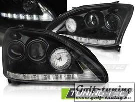 Lexus RX 330/350 03-08 Фары Devil eyes, Dayline черные