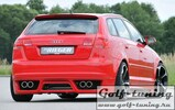Audi A3 8P 05-08 5Дв Sportback Накладка на задний бампер