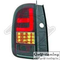 Renault Duster 11-17 Фонари светодиодные, красно-тонированные Lightbar design