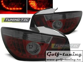 Seat Ibiza 6J 08- 3D Фонари светодиодные, красно-тонированные