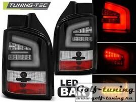 VW T5 09-15 Фонари светодиодные, черные Lightbar