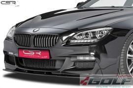 BMW F06/F12/F13 M-Paket 11- Накладка на передний бампер Cupspoilerlippe глянцевая