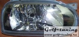VW Golf 3 Фары хрусталь, хром