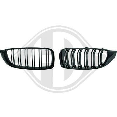 BMW F32/F33/F36 13- Решетки радиатора (ноздри) глянцевые M4 Look