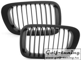 BMW E46 Coupe/Cabrio 00-03 Решетки радиатора (ноздри) черные
