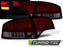 AUDI A4 B7 Седан 04-08 Фонари красно-тонированные с светодиодным поворотником