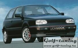 VW Golf 3 Спойлер переднего бампера GTI Look