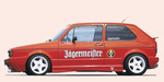 VW Golf 1 Накладки на пороги