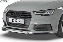 Audi A4 B9 S-Line / S4 8W 2015-05/2019 Накладка на передний бампер глянцевая