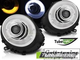 Mini Cooper R55/R56/R57 06-14 Фары tube light хром