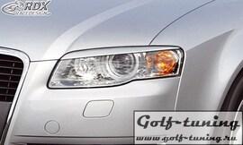 Audi A4 B7 Ресницы на фары