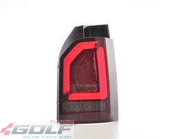 VW T6 15- Фонари светодиодные, красно-тонированные
