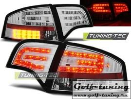 Audi A4 B7 04-08 Седан Фонари светодиодные, хром с светодиодным поворотником