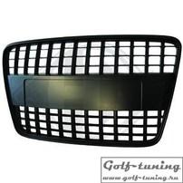 Audi Q7 4L 05-09 Решетка радиатора без значка черная