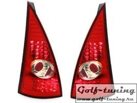Citroen C3 02-05 Фонари светодиодные, красные