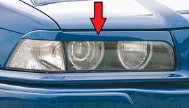 BMW E36 Купе/кабрио Реснички на фары