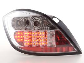 Opel Astra H 5-дв. 04- Фонари светодиодные хром