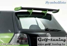 Opel Astra G Хэтчбэк Спойлер на крышку багажника