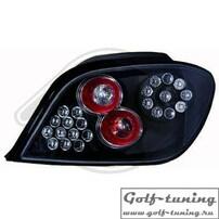 Peugeot 307 01- Фонари светодиодные, черные