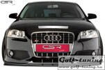 Audi S3 8P 03-12 Накладка на передний бампер Cupspoilerlippe