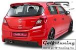 Opel Corsa D 06- Накладка на задний бампер O-Line design