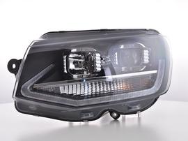 VW Bus T6 15- Фары с LED скобками черные