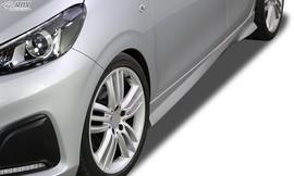 """Peugeot 108 Накладки на пороги """"Turbo"""""""