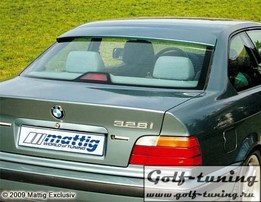 BMW E36 Купе Козырек на заднее стекло