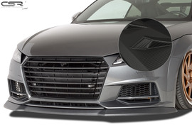 Audi TTS FV/8S 14- Спойлер переднего бампера Carbon look
