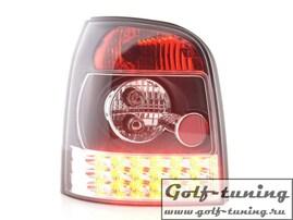 Audi A4 B5 95-00 Универсал Фонари светодиодные, черные
